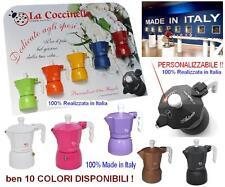 N.1 BOMBONIERA 100% ITALIANA CAFFETTIERA TOP MOKA in 10 COLORI PERSONALIZZABILE