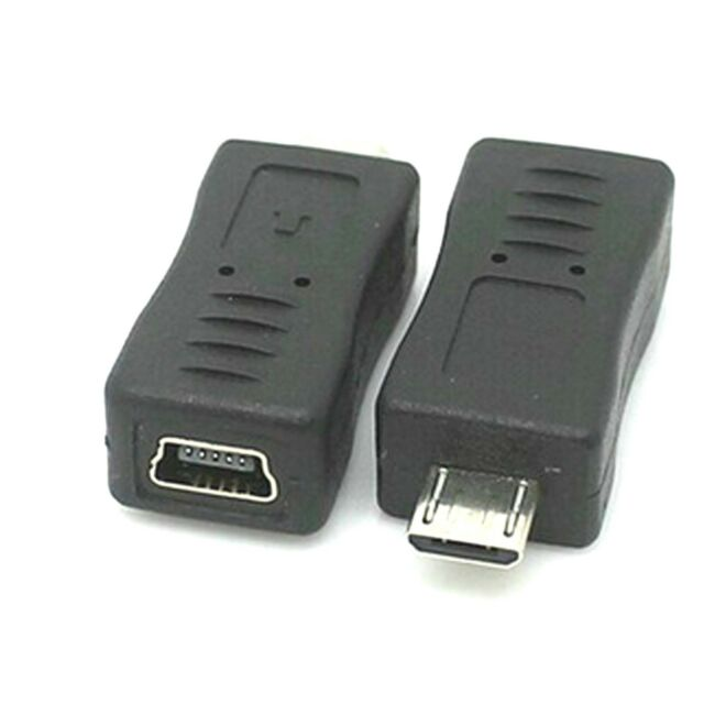 Micro Usb Male Type To Mini Usb Female Charger Adapter Connector Converter ad02