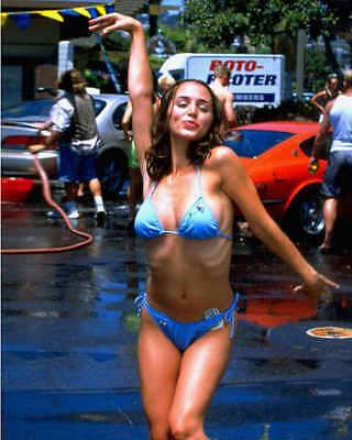 Eliza Dushku Tru Calling Sexy In A Tiny String Bikini Unsigned 8