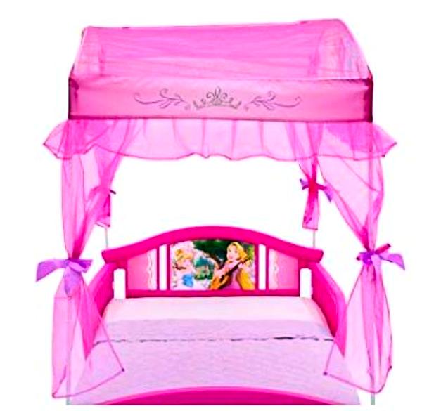 KidKraft 76121 Princess Toddler Bed