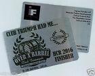 Aluminium Metal BUSINESS CARDS Membership Cards Loyalty PROFESSIONAL Printed
