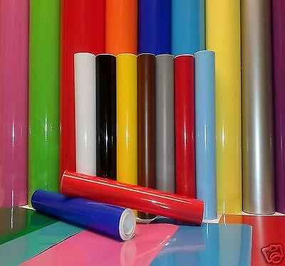5M Roll or A4 Sht Sticky Back Plastic Self Adhesive Sign Vinyl Gloss Matt