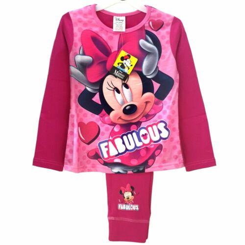 Enfants Pyjama Pyjama Disney Minnie Souris Fille Loisirs Costume 2-tlg nouveau