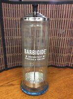 Barbicide King Research large complete disinfectant fungicide virucide jar H26