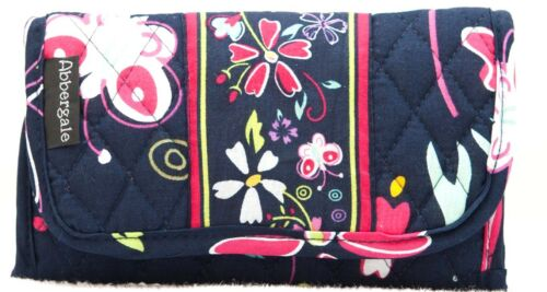 Abbergale/'s Small Wallet//Purse Crossbody Cotton Quilted Colorful