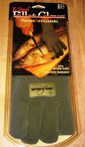 NORMARK K STEEL FISH FILLETING GLOVE Small fits size 7 /& 8 Hand U