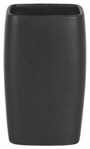 Spirella Rétro Noir Tasse De Brosse à Dents Gobelet Design-rétro In Matt Grès Tk33ofmu-10102929-394299178