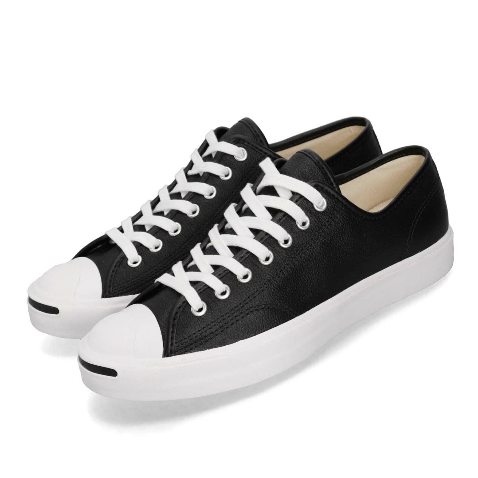 Converse Jack Purcell OX Black White Men Women Unisex Casual Shoes 164224C