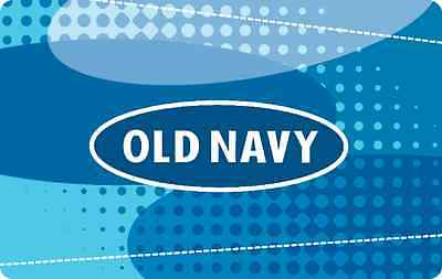 Old Navy Gift Card $25 $50 $100 - mail delivery