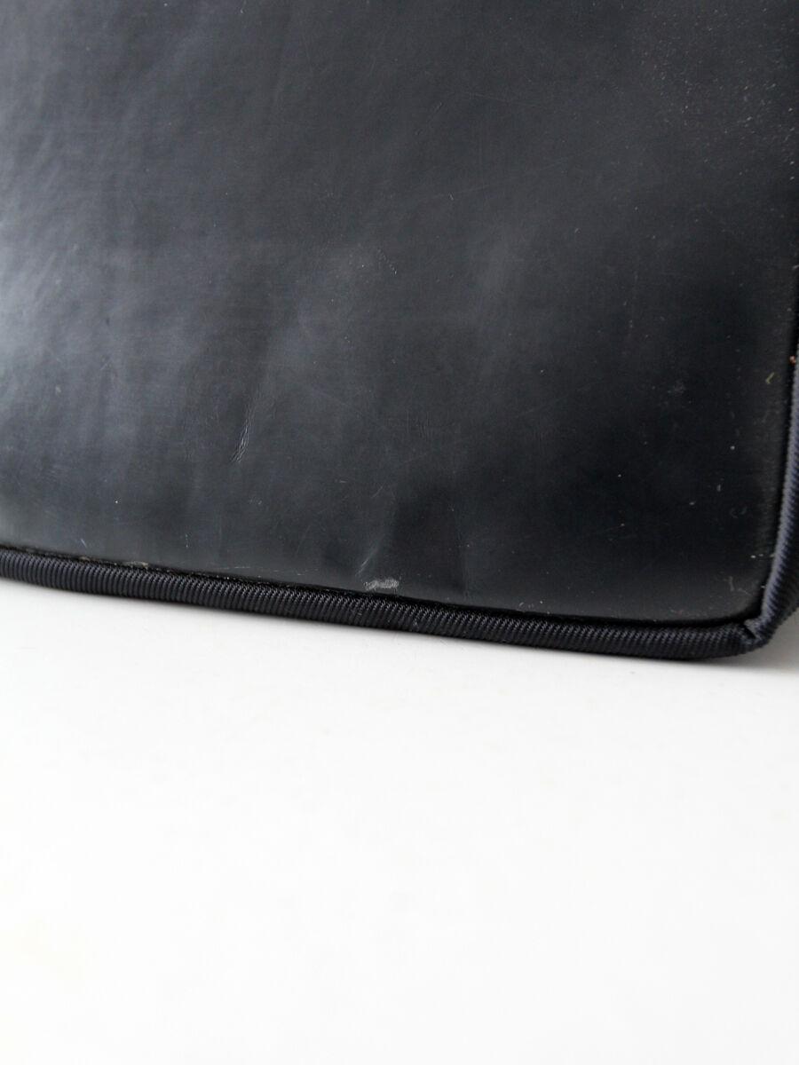 Gucci diana bag with bamboo handle, black nylon s… - image 7