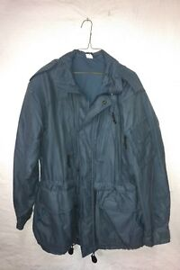 CANADIAN-ARMY-WINTER-COAT-PARKA-GORETEX-SIZE-73-40-AIR-FORCE-BLUE