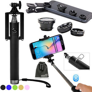eeekit for phone universal bluetooth wireless wired selfie stick monopod lens ebay. Black Bedroom Furniture Sets. Home Design Ideas
