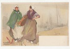 Holland, Katwyk, H. Cassiers Chromo Art Postcard, B068