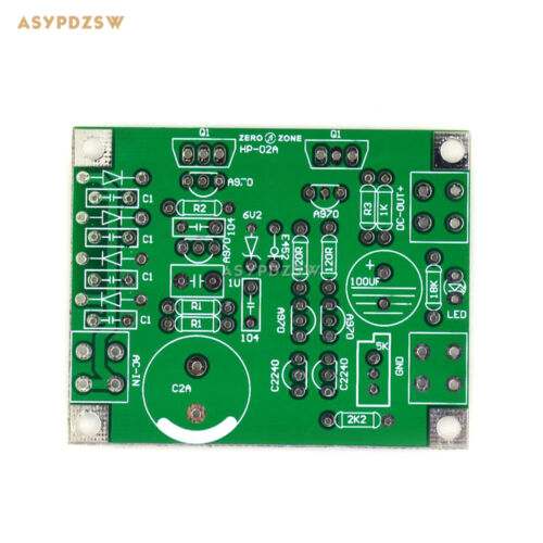 HP02A Super parallel single voltage class A power supply PCB