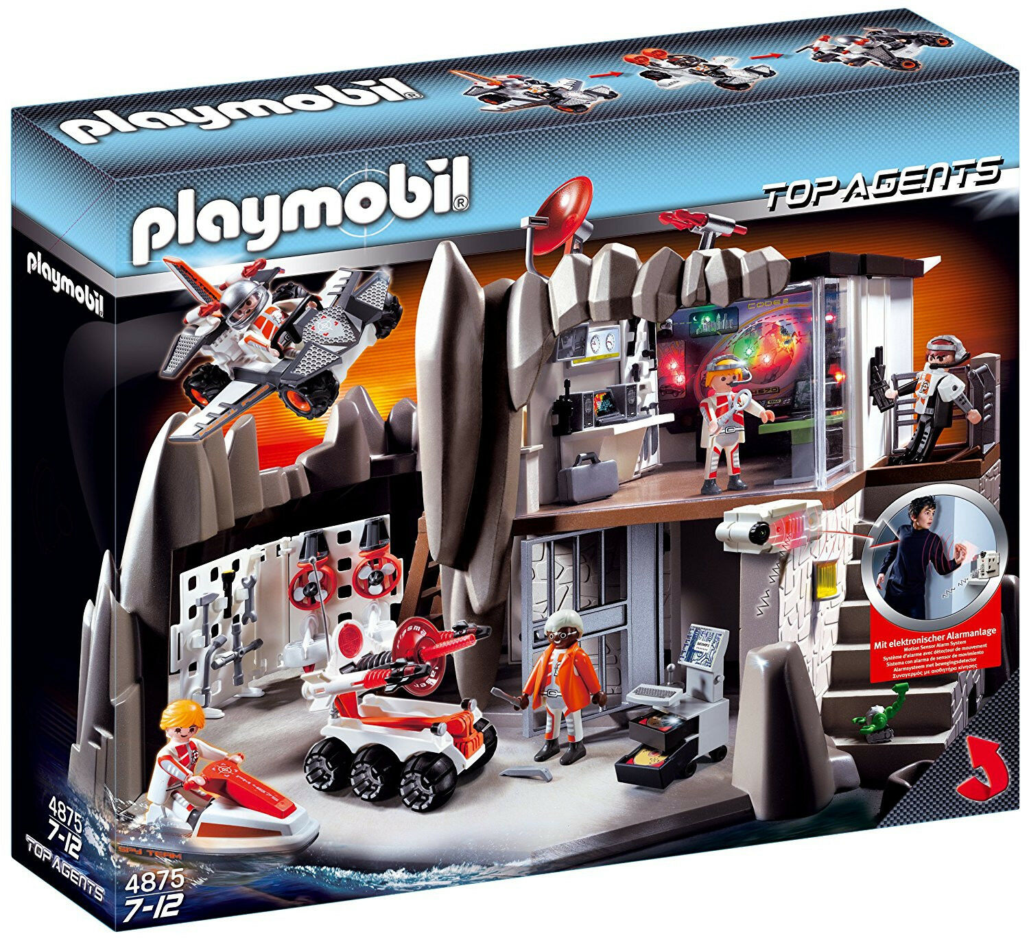 Playmobil 4875 Top Agents Top Agent Headquaters