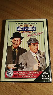 Abbott & Costello - Who's On First? (DVD, 2001) HILARIOUS ** FAST SHIP