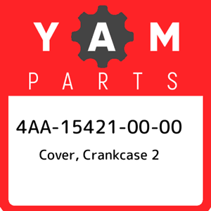 4AA-15421-00-00 Yamaha Cover, crankcase 2 4AA154210000, New Genuine OEM Part