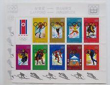 Korea 1978 Kleinbogen Olympische Winterspiele 1972 Sapporo und 1976 Innsbruck