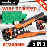 Automatic Wire Cutter Stripper Pliers Electrical Cable Crimper Terminal Tool New