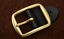 New-Top-quality-Golden-men-039-s-Belt-buckle-pin-buckle-For-Wide-1-5-034-3-8cm-Leather miniatura 5