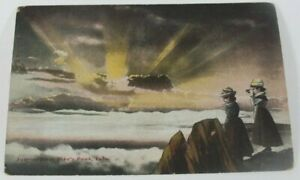 Vintage-Pike-039-s-Peak-Colorado-Postcard-1910-Rare-Posted-Greeting-Card-Collectible
