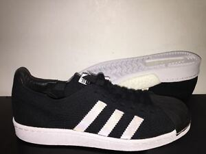 33f62d40a Image is loading ADIDAS-SUPERSTAR-PRIMEKNIT-BOOST-BLACK-BZ0130-RUNNING- LIMITED-