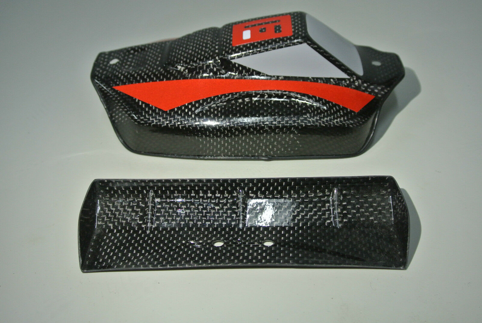 U.S. LOSI 1 14  MINI 8IGHT EIGHT 2XCFL REALCARBON FIBER RACE  BODY REARSPOILER