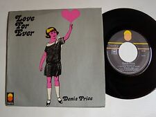 "DENIS PRICE : Love for ever / I have to pack my things again 7"" 45T TREMA 50.010"