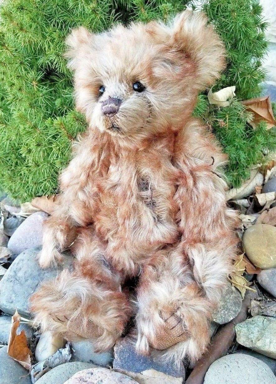 Charlie Bears  Snuffbox  Mohair Teddy Bear Limited Edition 2016 FREE SHIPPING