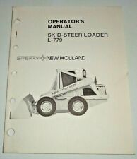 New Holland L 779 Skid Steer Loader Operators Owners Manual 482 Original Nh