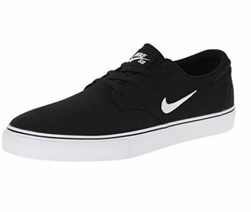 Men's Nike SB Clutch Canvas Skate Shoe Black 729825 001