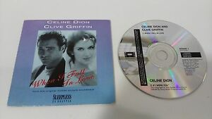 CELINE-DION-CLIVE-GRIFFIN-WHEN-I-FALL-IN-LOVE-SLEEPLESS-IN-SEATTLE-Cd-Single
