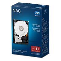 Wd Internal Hard Disk Drive 1tb Sata Iii 6gb/s 7200rpm 3.5 64mb Red Network Nas