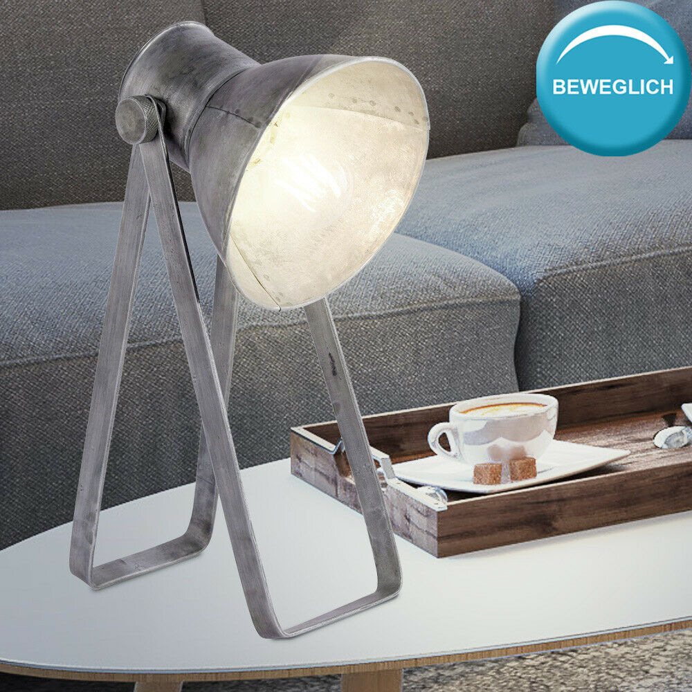 RETRO writing table lamp working room Beistell lamp spot frame movable modern