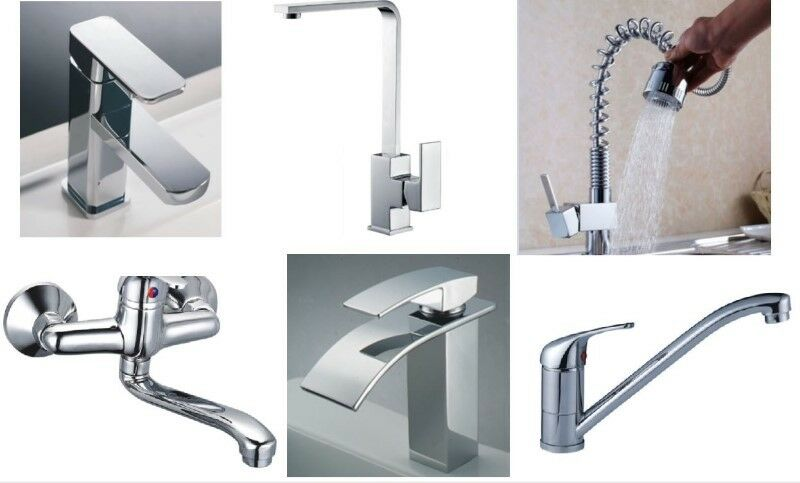 Brand New Taps & Mixers for Kitchen & Bathrooms