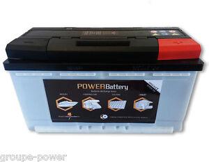 Batterie camping car 12v 130ah decharge lente haut de gamme