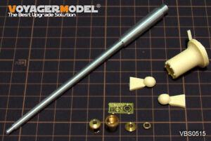 Voyager-Models-1-35-WWII-German-King-Tiger-105mm-L-68-Gun-Barrel