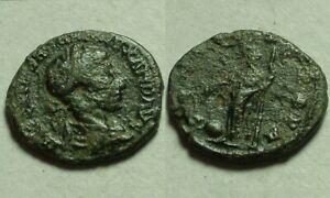 Severus Alexander genuine Ancient Roman Coin bronze denarius Providence
