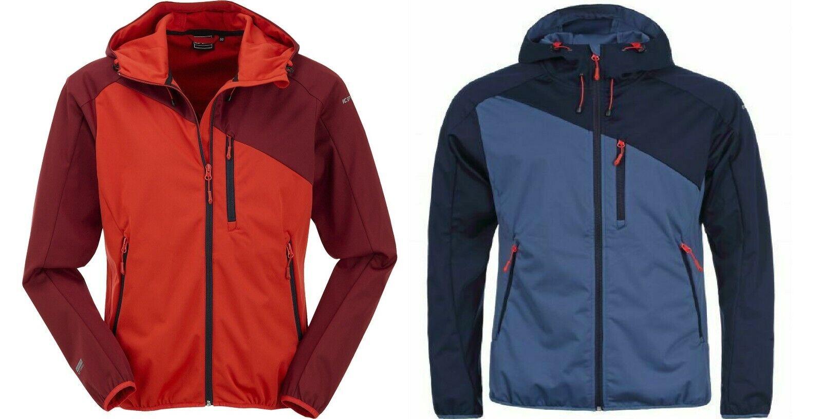 Icepeak silvain Softshell chaqueta señores agua-viento densamente transpirable PVP 99,95