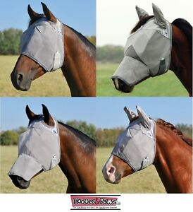 Cashel-Fly-Mask-Horse-Standard-Ears-Nose-Sun-Protection-ALL-STYLES-ALL-SIZES