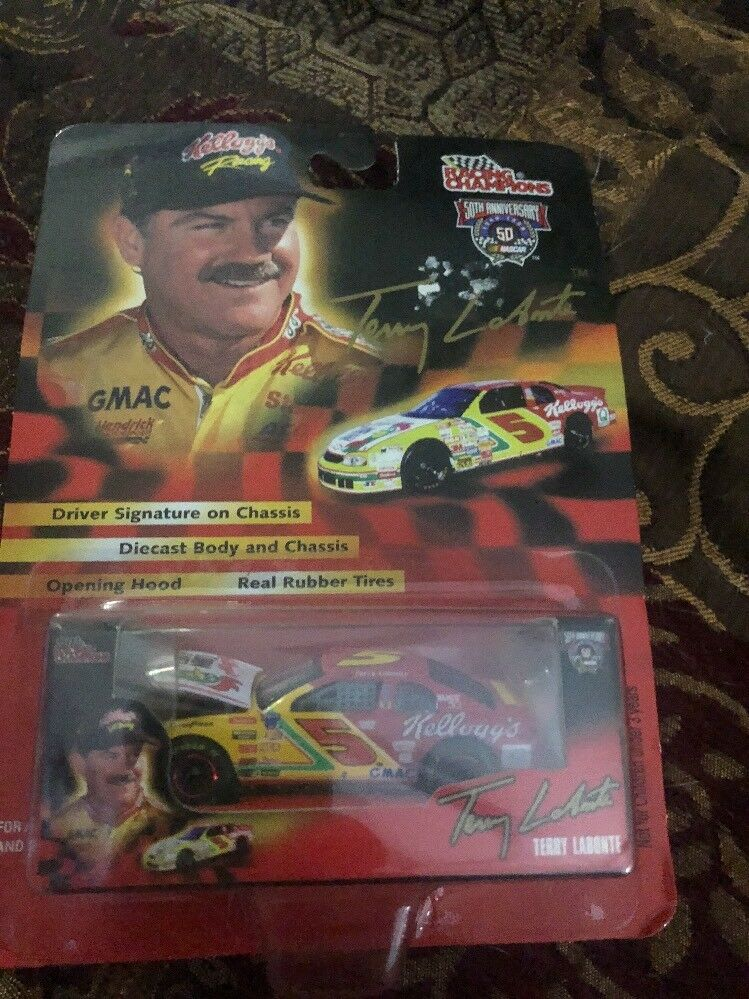 TERRY LEBONTE RACING CHAMPION 50TH ANNVERSARY NASCAR 1 64 DIE-CAST BODY & CHASSI