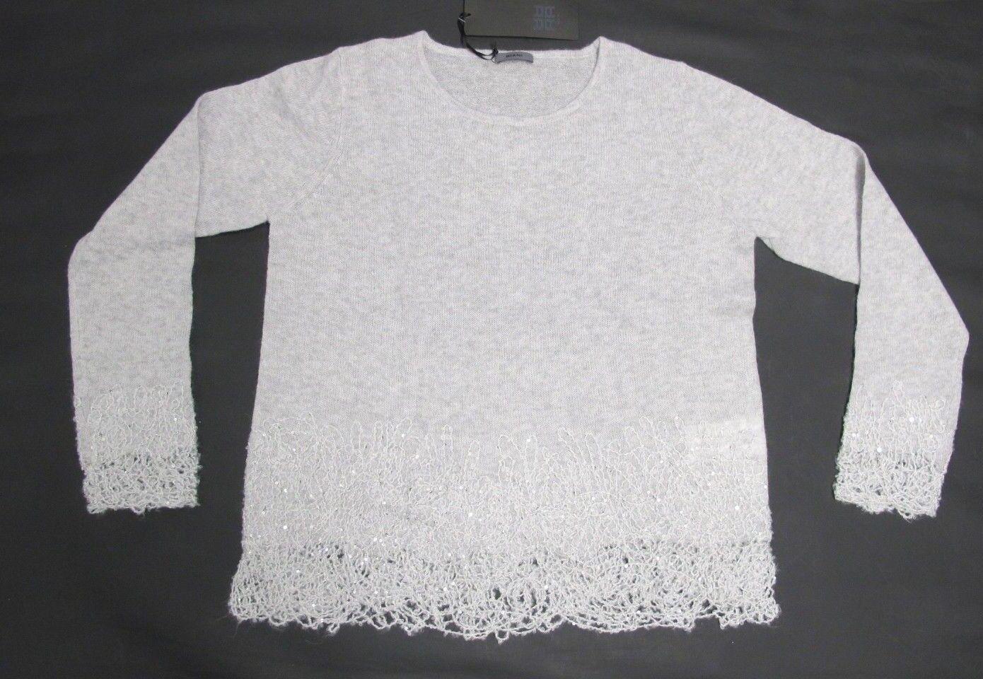 Riani Pullover Grau mit Glitter Glitter Glitter Art. 787500-7890  Gr. 38,40,42 | Moderne und elegante Mode  | Hochwertige Materialien  | Moderne und stilvolle Mode  366432