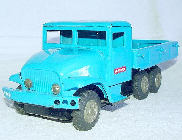 Más asequible Haji Japan Japan Japan Gmc M211 fuerza aérea, transporte de camiones de Lata fricción coche 21cm bonito `60 Rara  varios tamaños