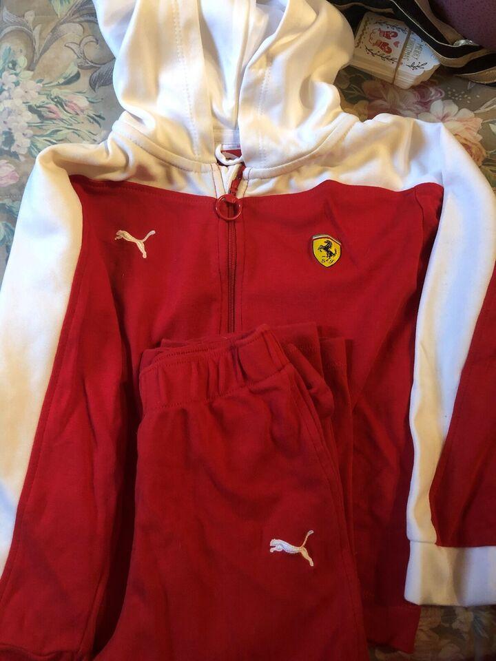 Sæt, Joggingsæt, Puma/Ferrari