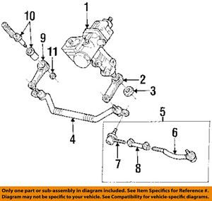 Image Is Loading Cadillac GM OEM 97 99 Catera Steering Tie