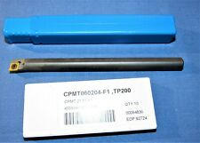 Solid Carbide Boring Bar With 5 Carbide Inserts Cpmt 2151 F1 38 Dia