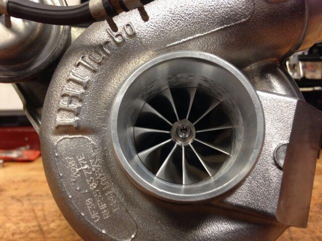 Billet compressor wheel for IHI VF34 ball bearing turbo Subaru Impreza STI