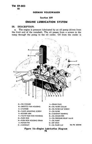 German Volkwagen Engine Diagram