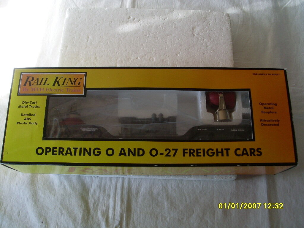 RAIL KING BY MTH  O  GAUGE  NEW YORK CENTRAL SEARCHLIGHT CAR