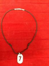 Gucci Sterling Silver Lucky N.7 Necklace